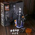 SCI-FI Revoltech Série N ° 005 Jack Skellington PVC Action Figure Collectible Modelo Toy 18.5 cm MVFG355