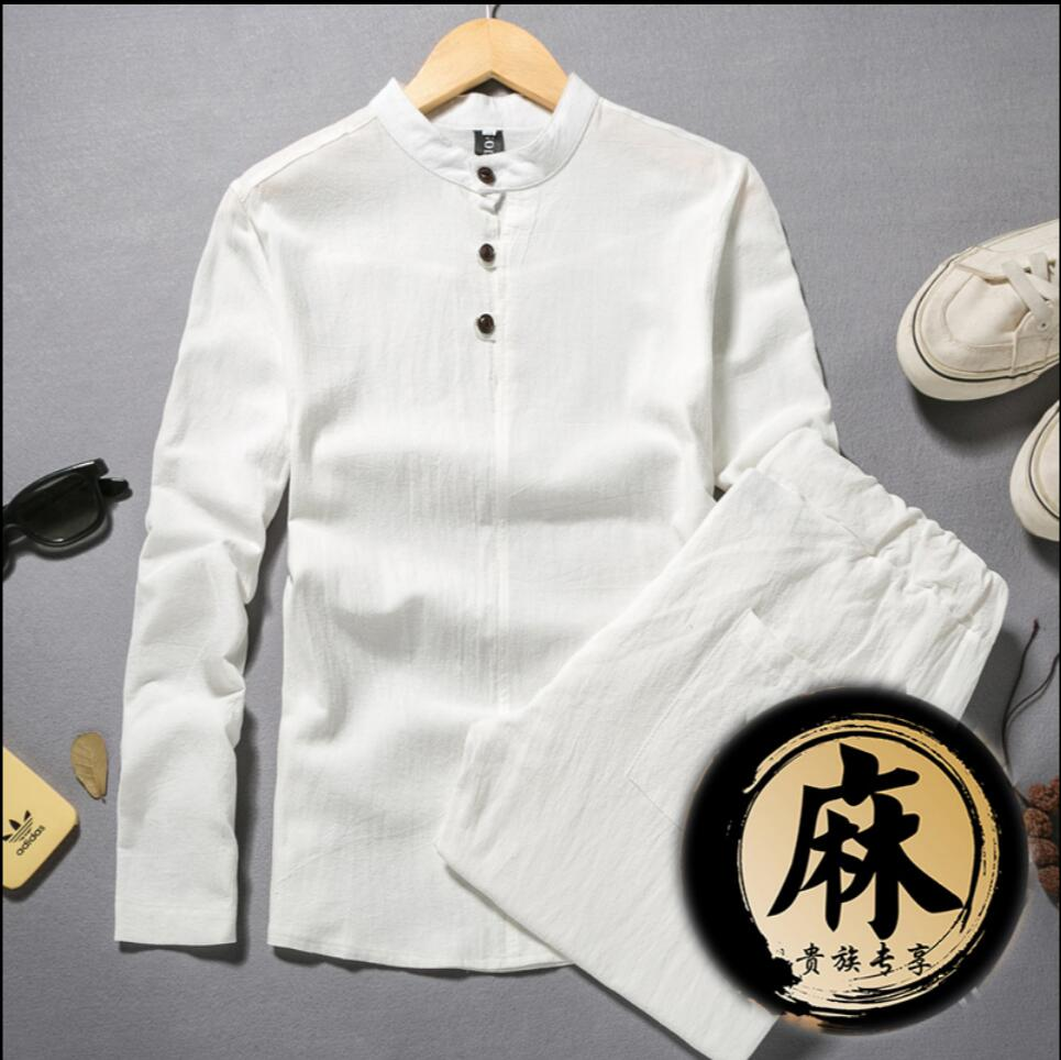 Online Buy Wholesale men linen clothes from China men linen ...