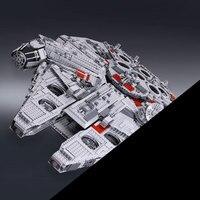IN STOCK 05033 5265Pcs Ultimate Collector S Millennium Falcon Model Building Kit Blocks Bricks Toy Compatible