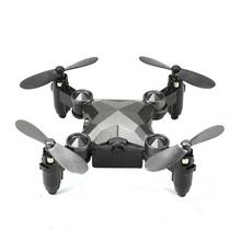 DH800 RC Drone Mini Fold-able Mode Quad-copter 4 Channel Gyro Aircraft with Watch Type Remote Controller