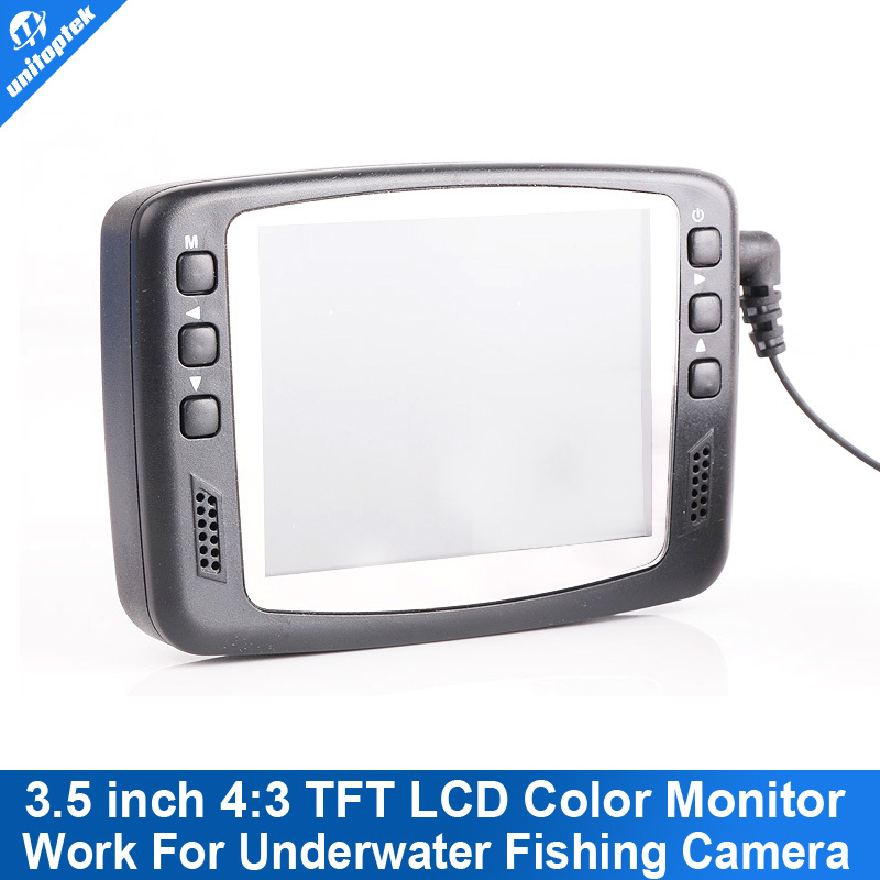 ФОТО Only 3.5 Inch Color Monitor Work For Underwater Fishing Camera Support 7H15M OR 7H30M