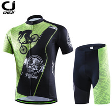 Brand New Men's Sports Ropa Ciclismo Cycling Bike Jersey Shorts Sets Bicycle Pattern Short Sleeve Suits S-XXXL 11 Colors
