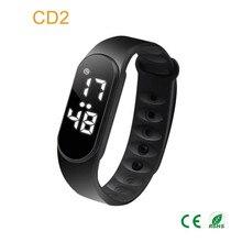 d315bdc98e4 Multifunções LED Touch Screen de Fitness Saúde Pulseira Smartband Esporte  Rastreador De Fitness Pedômetro Watch