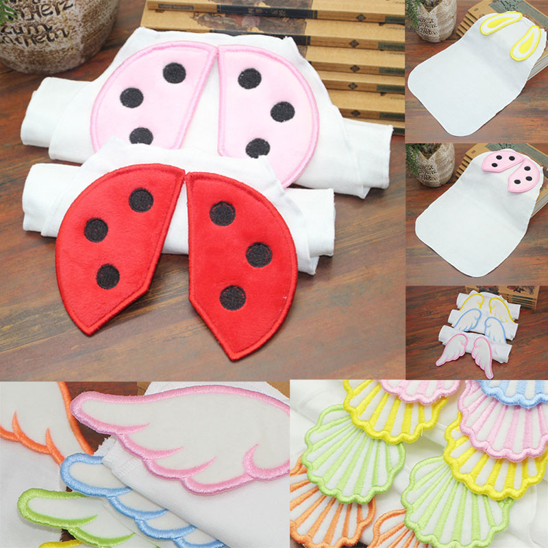Avoid Rash Cotton Baby Absorb Sweat Back Towel Wicking Towel Perspiration Wipes Reusable Suction Sweat Towel New 1 Pcs