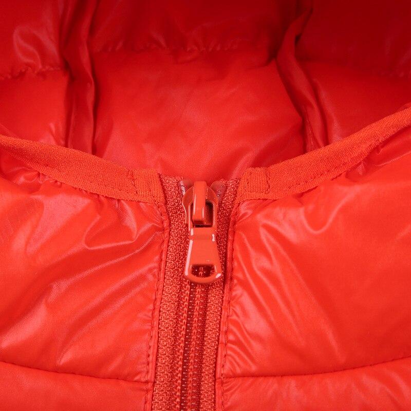 Image 5 - 2019 зимняя куртка высокого качества куртка пуховик для мальчиков детское пуховое пальто на утином пуху, светильник тонкая теплая уличная одежда с капюшоном для девочек 10, 12, 14, 16 лет-in Пальто и парки from Мать и ребенок