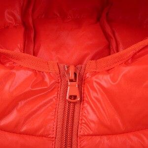 Image 5 - 高品質 2020 冬ジャケットの少年ダウンジャケット子供子供ライトアヒルダウンコートフード付き女の子薄型暖かい Outerwears 10 12 14 16 Y