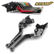For APRILIA RST1000 FUTURA 2001 2002 2003 2004 Adjustable CNC Motorcycle Folding Extendable Brake Clutch Levers for aprilia rsv milie r 1999 2003 falco sl1000 2000 2004 motorcycle short brake clutch levers orange