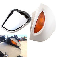 Custom Motorcycle Rear Mirrors with LED Turn Signals House for BMW R1100RT R1100RTP R1150RT
