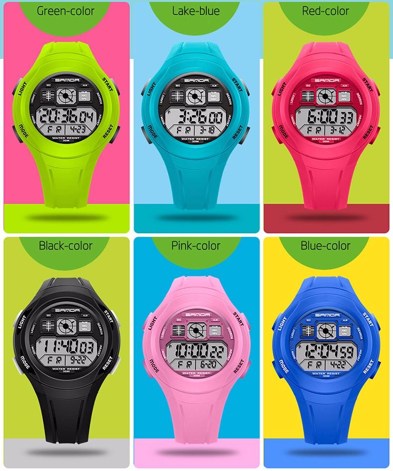 Digital Reloj Sports SANDA 3