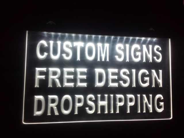 Светодиодный неоновый светильник ADV, дизайн, ваш собственный, ADV, открытый, Прямая поставка, декор магазина, светодиодный