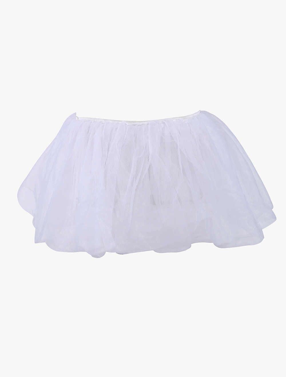 6eb1b9928 ... MOONIGHT Sexy Petticoat Satin Mini Tutu Skirt Ball Gown Ruffle Frilly  Corset Skirts ...