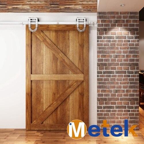 4.9FT/6FT/6.6FT Stainless steel fashionable barn sliding door fitting