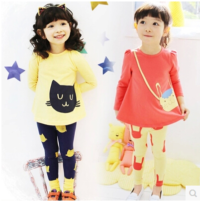 Liva girl autumn girls clothing set child casual suit