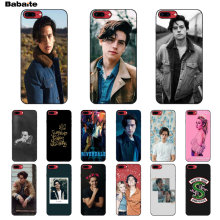 Babaite American tv riverdale Jughead Jones Cover Black Soft Shell Phone Case for Apple iPhone 5 5S SE 6 6S 7 8 Plus X XS MAX XR(China)