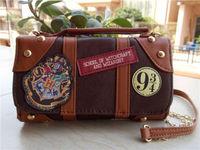 Hot Shoulder Bag Harri Hogwarts PU School Badge Potter Wallet Package Collectibles Handbags Christmas Gifts Props