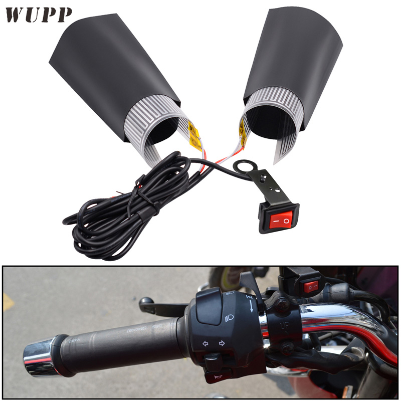 wupp winter use grips motorcycle motocross atv heated handle grip 12v 20w warm hand grips. Black Bedroom Furniture Sets. Home Design Ideas