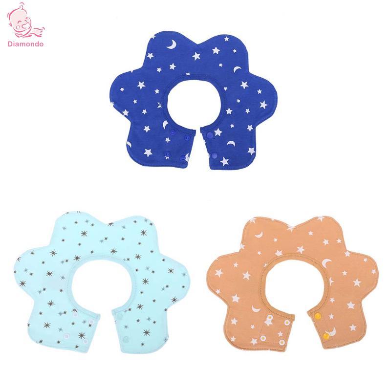 Infant Baby Bibs Round Neck 360 Degree Rotation Multifunctional Saliva Towel Soft Feeding Apron Bandana Newborn Bibs Burp Cloth