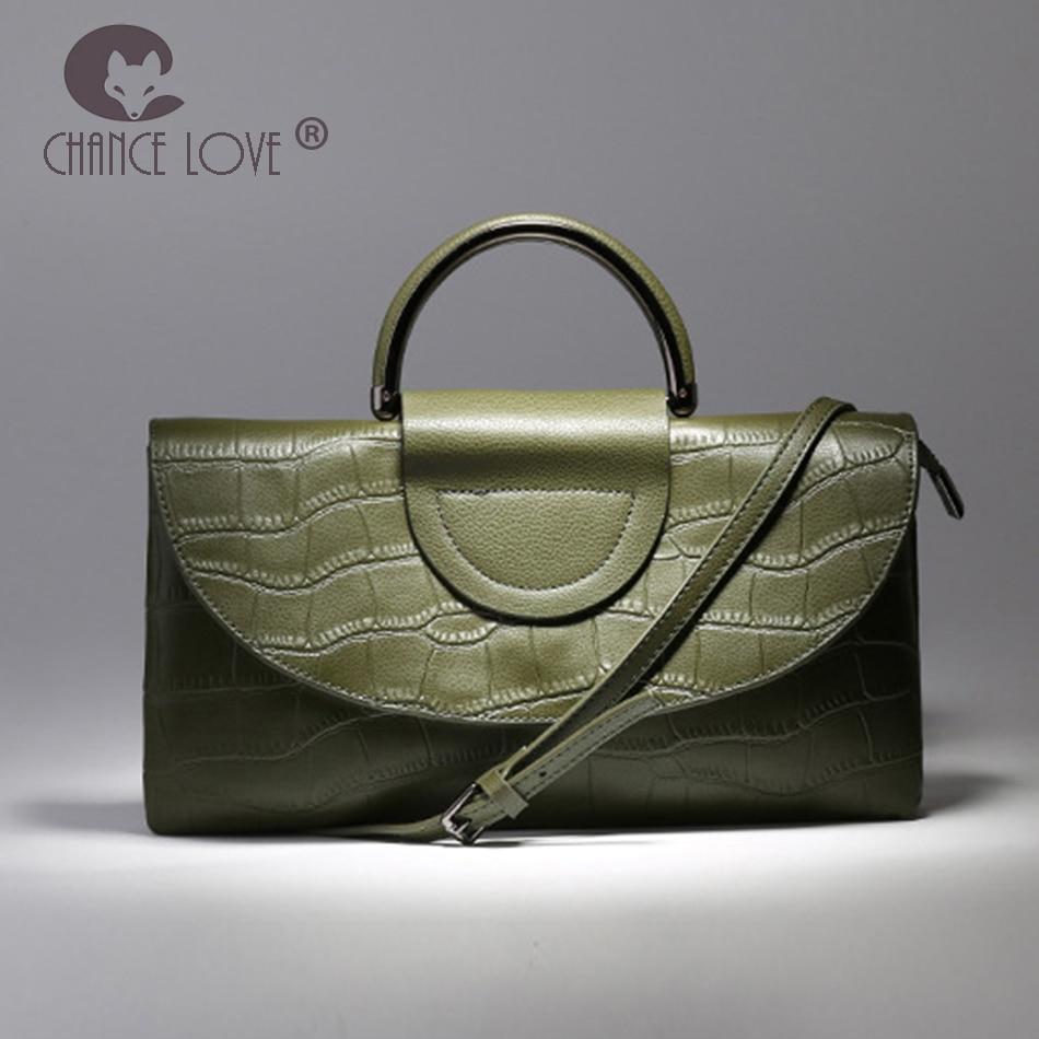 Chance Love bags for women 2018 Clutch bag female clutch bag female Genuine leather handbag Crocodile pattern women handbags chance love bag female women 100