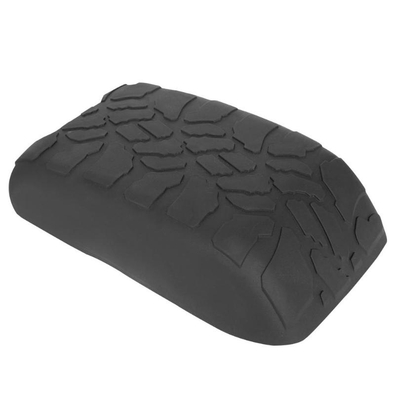 Bande de roulement voiture accoudoir Pad boîte Auto Console accoudoir couverture protecteur Auto accessoires pour Jeep Wrangler JK 2007-2017