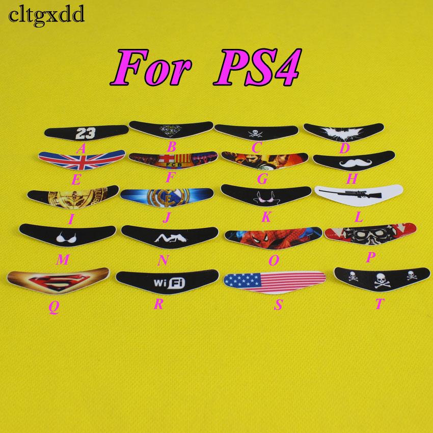 cltgxdd Game Controller Light Bar Lightbar Decal Sticker For PS4 For Playstation 4 Perfect