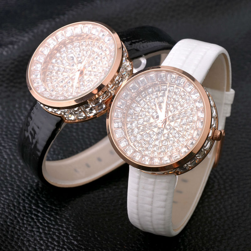 Top Luxury Bling Wrist Watch Fashion Diamond Ladies Watch Women Watches Women's Watches Clock saat montre femme bayan kol saati luxury full diamond watch women watches rhinestone bling women s watches ladies watch clock saat relogio feminino montre femme