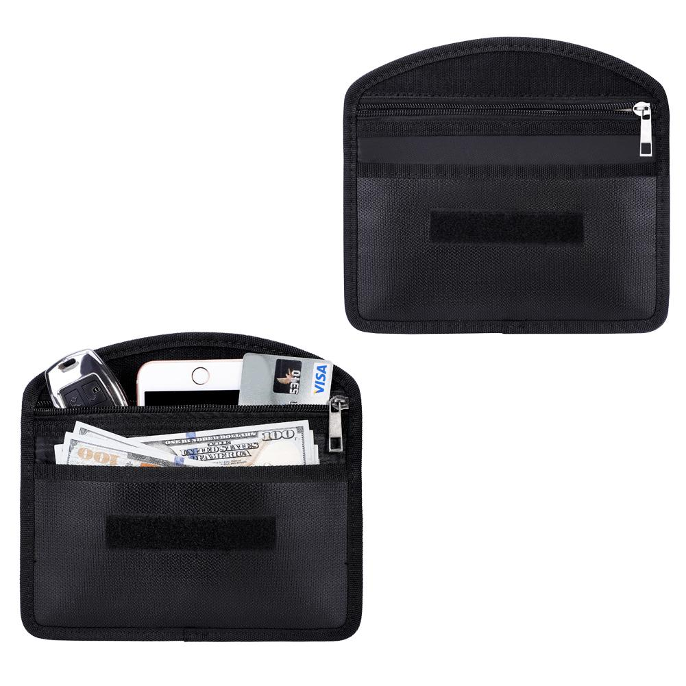 New Fireproof Burn - Proof Package Valuables Kit Anti - Signal Interference Package Product Holder Storage Bags Phone Organizer