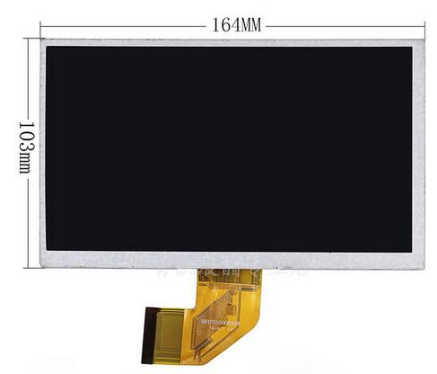 Witblue New LCD Display Matrix For 7 DEXP Ursus A170i JOY Tablet inner LCD screen panel Module Replacement Free Shipping 7 for dexp ursus s170 tablet touch screen digitizer glass sensor panel replacement free shipping black w
