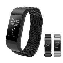 Gzdl S18 Bluetooth smart Сердечного ритма Мониторы Приборы для измерения артериального давления смарт-браслет сплав моды браслет IOS устройств Android WT8141