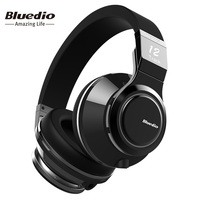 Bluedio Victory High End Wireless Bluetooth headphones PPS12 drivers over ear BT 4.1 headset with microphone rotated design