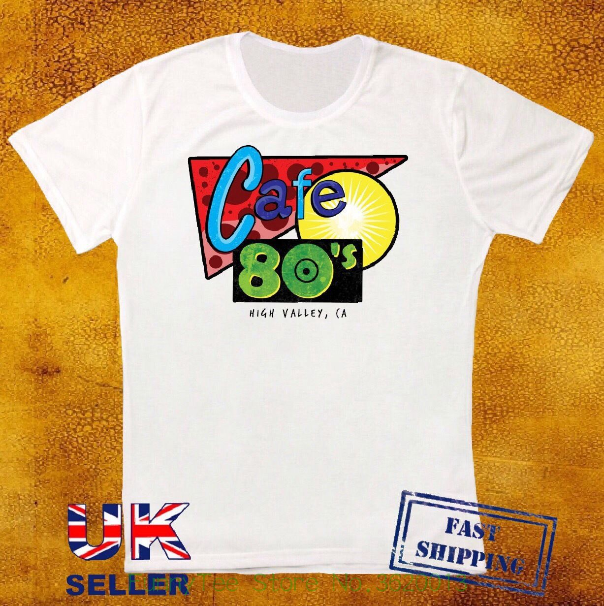 2 Inspired Cafe 80s Sign Film Unisex T Shirt Time Travel 117
