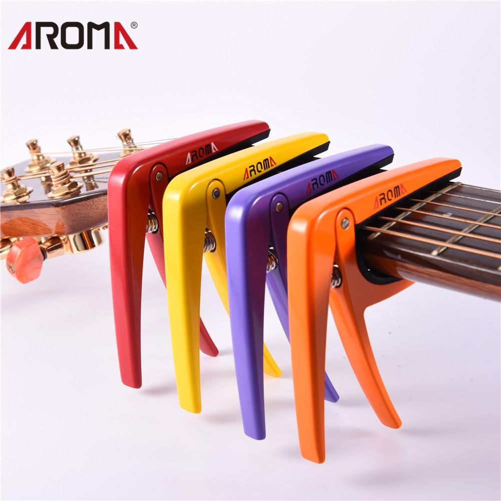 Clip de ceja para guitarra de zinc AROMA AC-01 Empuje las cuerdas de - Instrumentos musicales