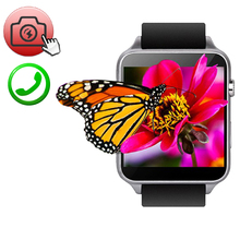 Android Smart Wrist Watch GT88 Heart Rate Inteligente Pulso WristWatch Waterproof GSM/GPRS SIM Card Camera Pedometer For iOS Men