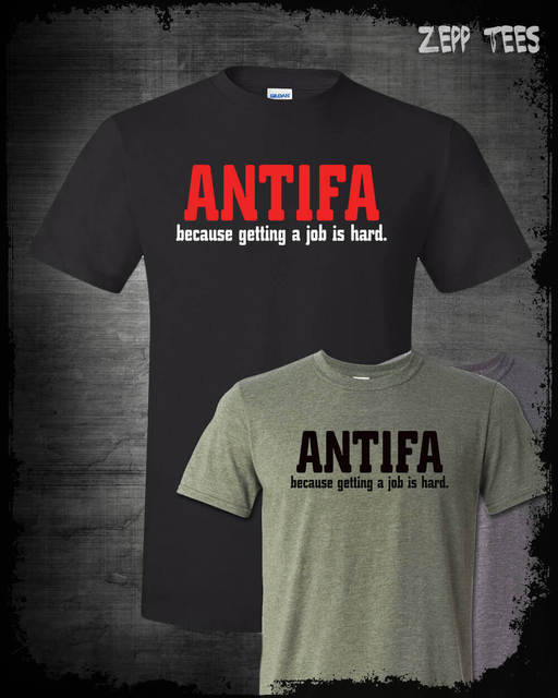 2b7907a8a58 2019 Fashion Summer Style Anti Antifa Shirt Berkeley Commie Riots MAGA  Based Stick Man Fight Alt Right Kek Tee Shirt