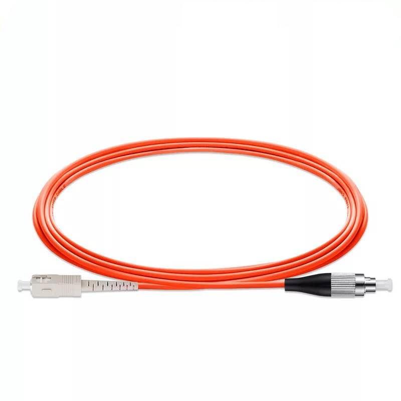 5pcs /lot FC/UPC-SC/UPC Simplex Fiber Optical Patch Cord Multimode Optical Jumper Patch Cord 1M/2M/ 3M /5M/ 10M
