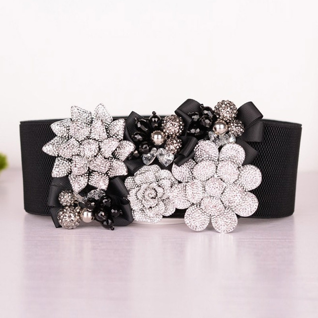 New Arrival Luxury Bridal Belt for Wedding Dresses Spandex with Diamonds Wedding Accessories Free Shipping