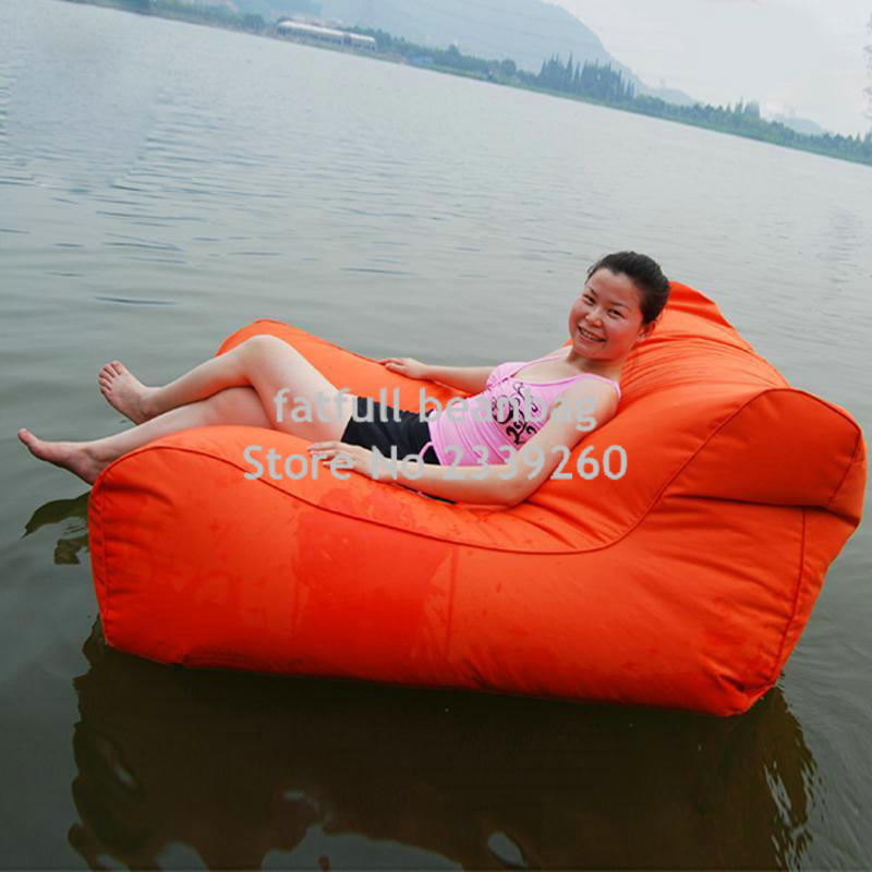Cover Only No Filler  Low Price Bulk Sale Sofa Style Lazy Outdoor Floating  Bean Bag