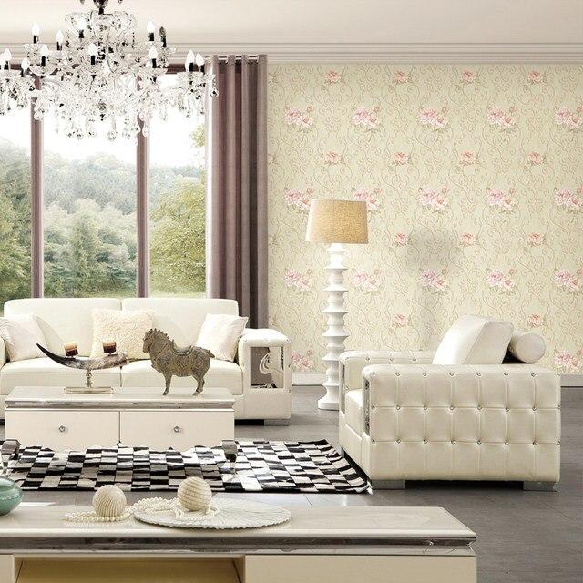 Online-Shop Vinyl Orchidee Wandbilder Wallpaper Moderne Beige 3d ...