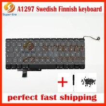 5pcs/lot Sweden / Swedish Keyboards For Macbook Pro a1297 Sweden / Swedish Keyboard Replacement Keyboards 2009-2011year
