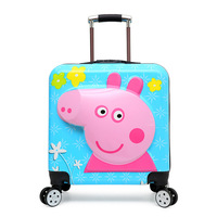 luggage bag traveling luggage bags with wheels 20 children's design pull rod box mute universal