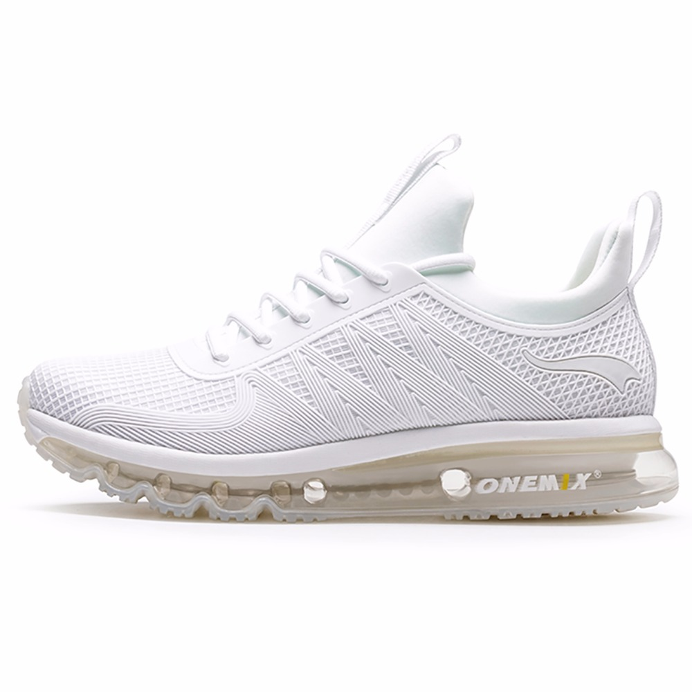 ONEMIX running shoes men s and women s high to help shock absorption sneakers breathable lightweight