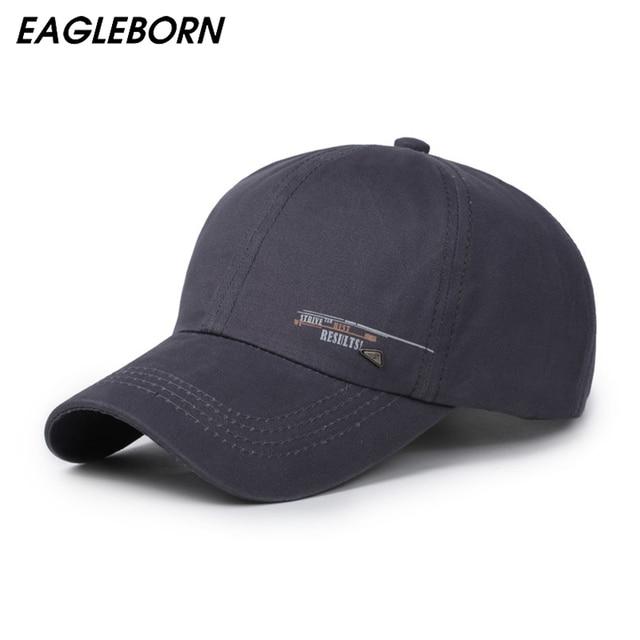 3839c37b0 US $6.41 38% OFF EAGLEBORN 2019 Unisex Spring Casual Baseball Cap Fashion  Snapback Hats Adjustable casquette bone Cotton Hat for Men Women -in ...