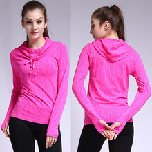 Top Women Workout Sports Fitness Yoga Sweatshirt