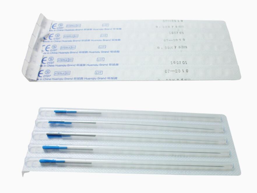 1000 pcs huanqiu ปราศจากเชื้อทิ้งการฝังเข็มเข็มหลอดนวดเข็ม 10 กล่อง 0.25/0.3/0.35 มม.-ใน นวดและการผ่อนคลาย จาก ความงามและสุขภาพ บน   2
