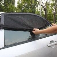 Nice Design 2PCS Pair Adjustable Car Window Sun Shades UV Protection Shield Mesh Cover Visor Sunshades