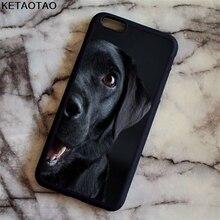KETAOTAO Cute pet dog labrador retriever Phone Cases for iPhone 4S 5S 6 6S 7 8 X PLUS for Samsung Case Soft TPU Rubber Silicone