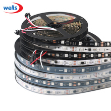 LED 5M WS2811 Strip Light DC12V Waterproof IP67 Not Waterproof IP30 RGB Addressable 30 48 60LEDs