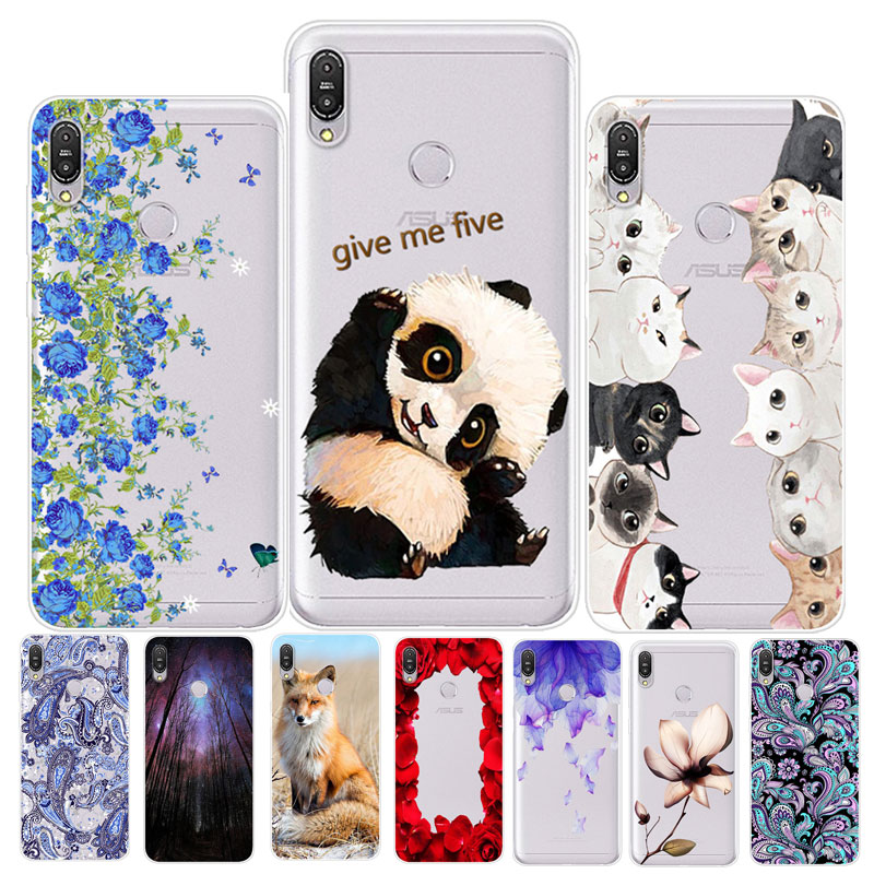 Silicone Case For Asus Zenfone Max M2 ZB633KL Case Clear Soft TPU Cover For Asus Zenfone M2 ZB633KL ZB 633KL X01BD Phone Case