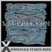 Aluminium métal tissu maille, Lt. Vert Vitrail couleur sans support / pour sac, Chaussures, Jeans, Décoration, De mariée, Vêtements