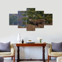 Big Buck Wrapped Canvas Painting The Picture Print On Canvas Animal Pictures For Home Decor Decoration Gift piece for Livingroom