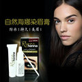 Marca Ryana Ceja Pestañas Crema de Henna Natural de la Planta Profesional Kit Set Tinte Tinte de Color Marrón Negro